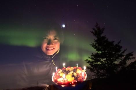 Birthday at Alaska